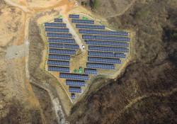 전남 화순군 이양면 해오름 태양광발전소 500KW